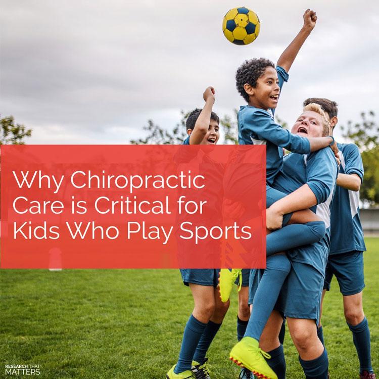 Chiropractic Vienna VA Kids and Sports